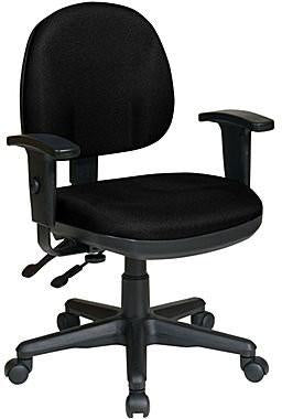 Work Smart 8180-231 Sculptured Ergonomic Managers Chair - Peazz.com