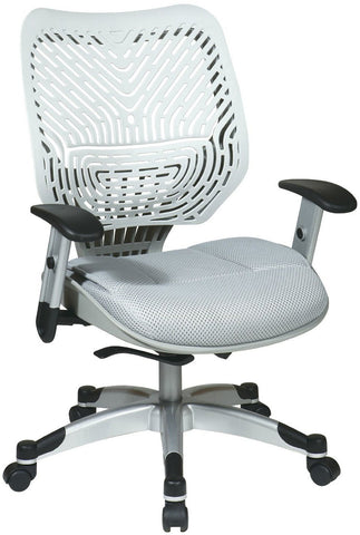 Office Star Space Seating 86-M22C625R Unique Self Adjusting Ice SpaceFlex® Back and Shadow Mesh Seat Managers Chair - Peazz Furniture