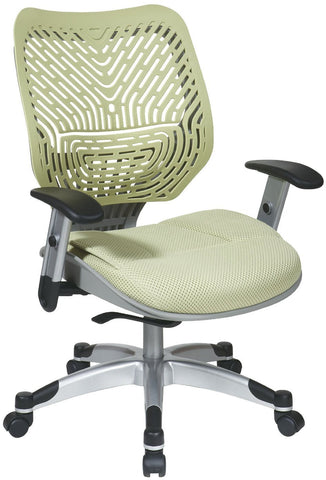 Office Star Space Seating 86-M39C625R Unique Self Adjusting Cosmo SpaceFlex® Back and Raven Mesh Seat Managers Chair - Peazz Furniture
