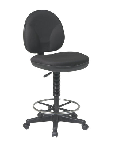 Work Smart DC550-231 Sculptured Seat and Back Drafting Chair - Peazz.com
