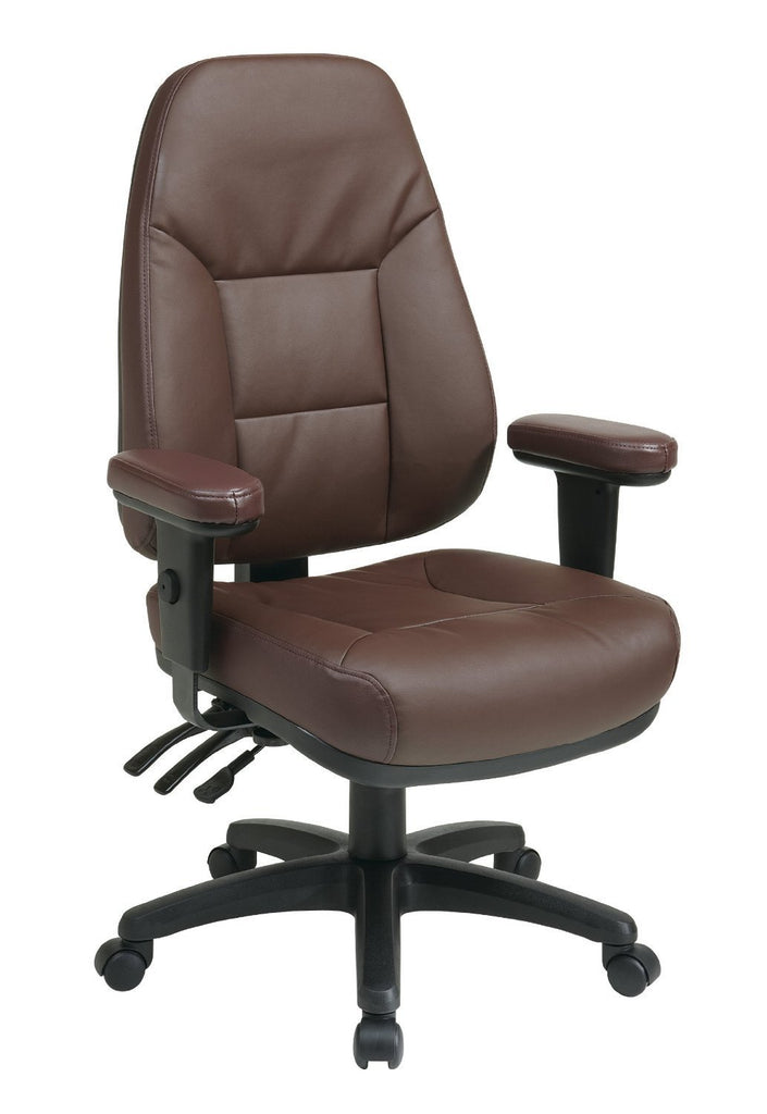 function furniture. Office Star Work Smart EC4300-EC4 Professional Dual Function Ergonomic High Back Leather Chair With Furniture F