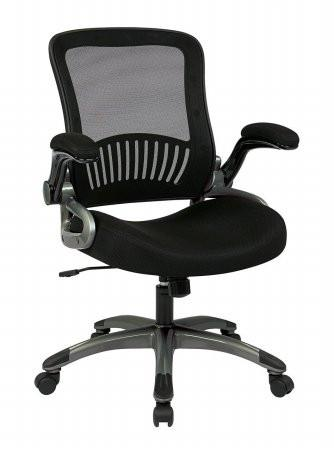 Work Smart EM35207-3 Screen Back and Mesh Seat Managers Chair - Peazz.com
