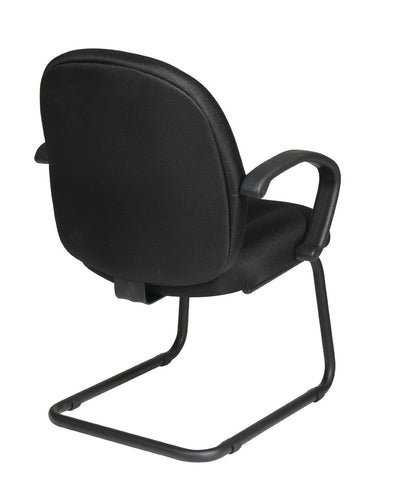 Work Smart EX2651-231 Executive Mid Back Managers Chair with Fabric Back - Peazz.com