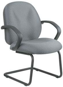 Work Smart EX2654-303 Executive High Back Managers Chair with Fabric Back - Peazz.com