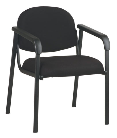 Work Smart EX35-231 Designer Plastic Visitor Chair with Shell Back - Peazz.com