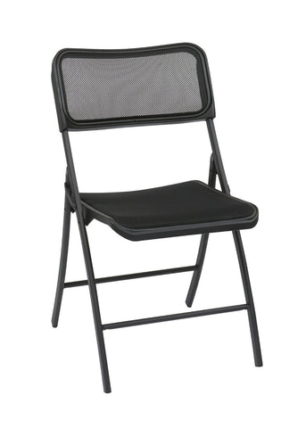 Work Smart FF-223012 Folding Chair with Screen Seat and Back (2PCS/CTN) - Peazz.com