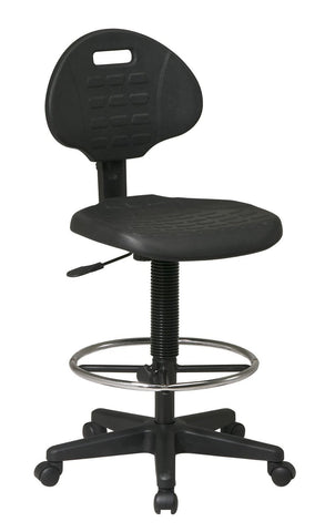 Office Star Work Smart KH540 Intermediate Drafting Chair with Adjustable Footrest - Peazz Furniture