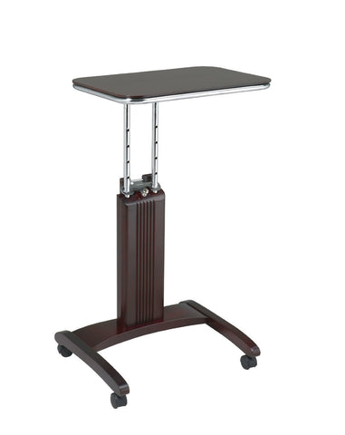 Pro-Line II / OSP Designs PSN623 Precision Laptop Stand in Mahogany Finish - Peazz Furniture