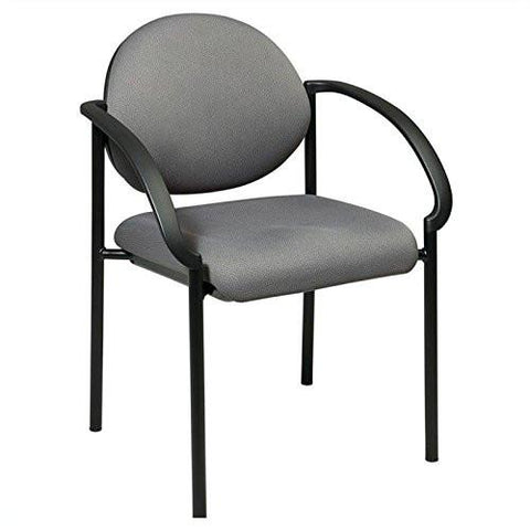 Work Smart STC3410-231 Stack Chairs with Arms - Peazz.com