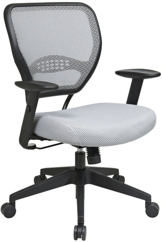 Office Star Space Seating 55-M22N17 Shadow AirGrid® Back and Shadow Mesh Seat - Peazz Furniture