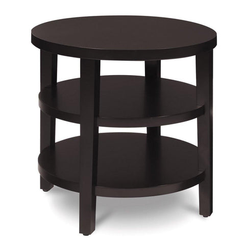 "Office Star Ave Six MRG09 Merge 20"" Round End Table - Peazz Furniture"