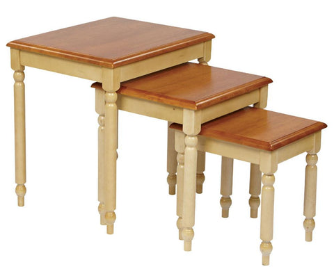 Office Star OSP Designs CC19 3pc. Nesting Tables - Peazz Furniture