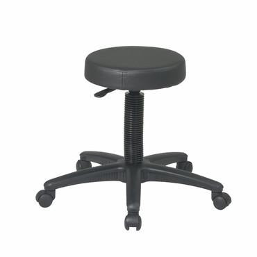 Office Star Work Smart ST215 Backless Drafting Stool with Nylon Base - Peazz Furniture