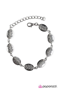 "Paparazzi ""Good Things Come In Trees"" Leafy Tree Pattern Black Gunmetal Bracelet Paparazzi Jewelry"
