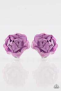 "Paparazzi ""Rose Garden Glam"" Purple Flower Hairband Clip Paparazzi Jewelry"