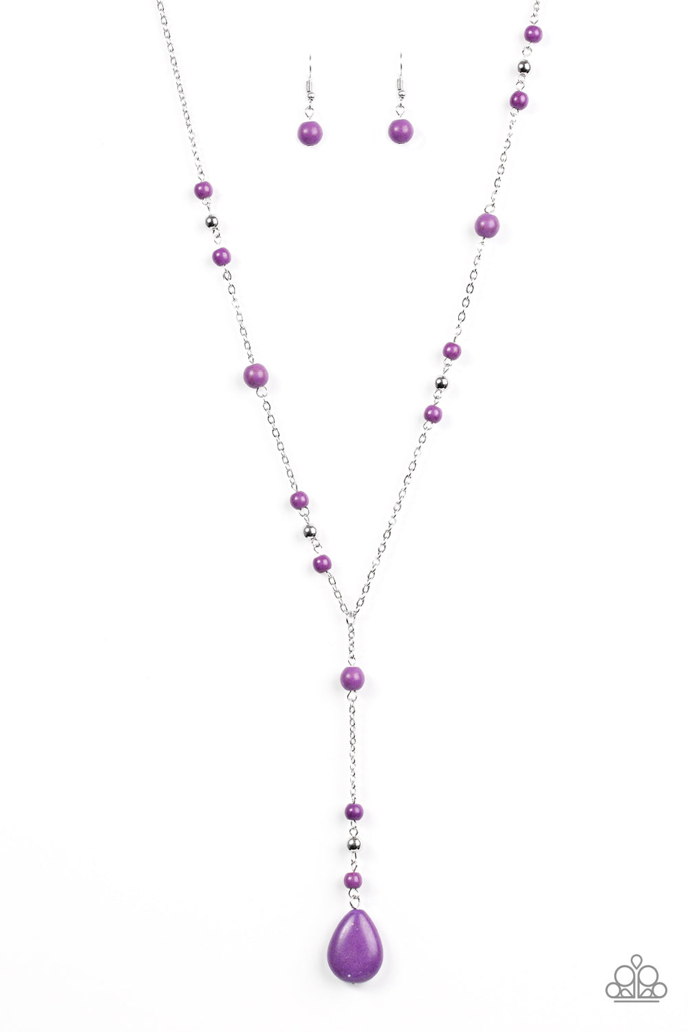 crystal tomtosh product necklace hexagonal fluorescent leather purple chain stone natural pendant