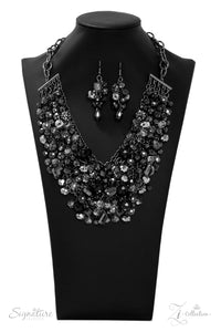 "Paparazzi ""Taylerlee"" Zi Collection Necklace & Earring Set Paparazzi Jewelry"