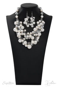 "Paparazzi ""The Lauren"" Zi Collection Necklace & Earring Set Paparazzi Jewelry"