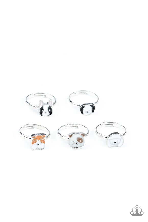 Paparazzi 10 for $10 Starlet Shimmer 238XX Dogs Poodle, Pug, Bulldog Animal Rings Paparazzi Jewelry
