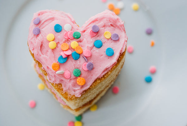 Heart-Shaped Mini-Cakes