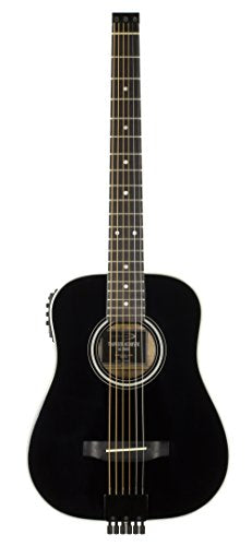 Traveler Guitar AG-200EQ Acoustic-Electric Guitar, Black