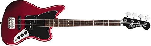 Squier by Fender Vintage SS Modified Special Jaguar Bass - Candy Apple Red