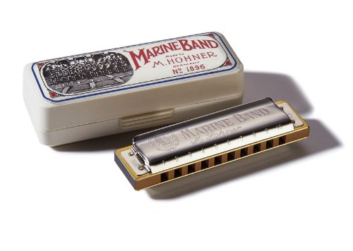 Hohner Marine Band Harmonica, Key of G