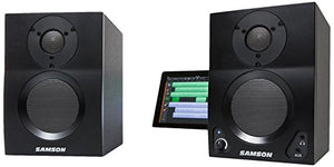 Samson MediaOne BT3 Active Studio Monitors with Bluetooth