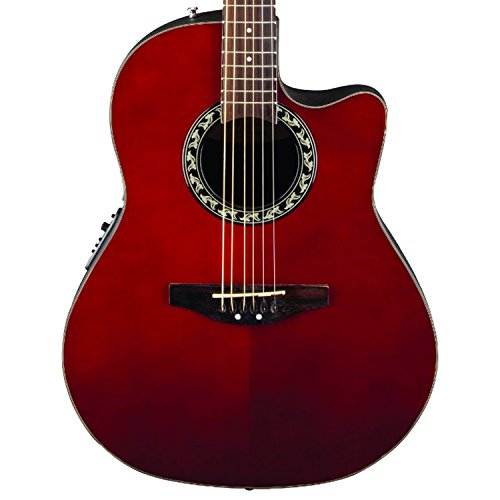 Ovation AB24-RR Acoustic-Electric Guitar, Applause Balladeer Cutaway Dreadnought