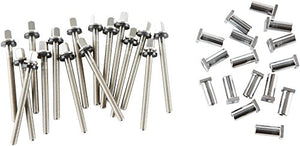 "DW True Pitch Tension Rods for 14-18"" Toms (16-pack) 16 Pack"
