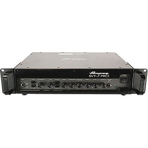 Ampeg Pro Series SVT7PRO 1000 Watt Tube/Solid State Hybrid Class D Bass Amplifier Head