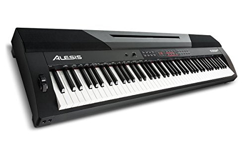 Alesis Coda Pro | 88-Key Digital Piano with Hammer-Action Keys, Split Keyboard & Voice Layering, and Included Sustain Pedal