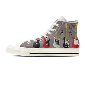 Men's Double Sided Print , High Top