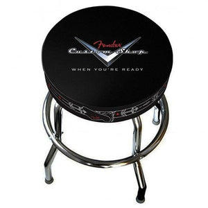Fender 24-Inch Custom Shop Pinstripe Bar Stool