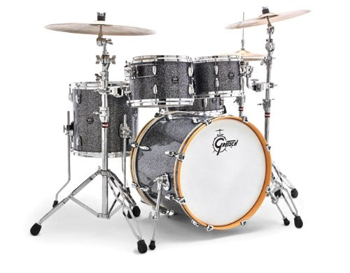 Gretsch New Renown Maple 4-Piece Groove Drum Set Shell Pack - Blue Metal