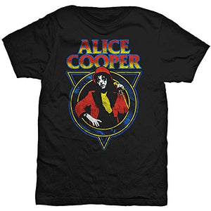 Alice Cooper - Top Hat & Cane - Adult T-Shirt - Small