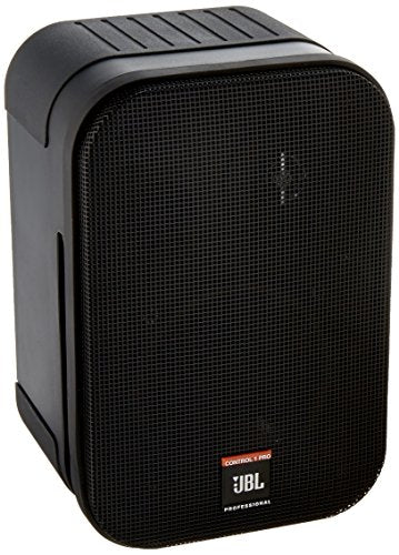 JBL Control 1 Pro High Performance 150-Watt Miniature Studio Monitor Speaker (Pair, Black)