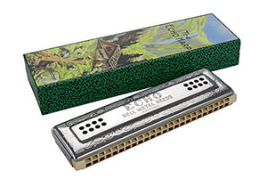 Hohner 56-C/G Echo 48-Hole Tremolo Harmonica, Key of C/G