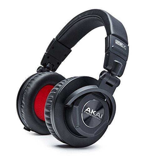 Akai Professional Project 50X | Over-Ear Studio Monitor Headphones