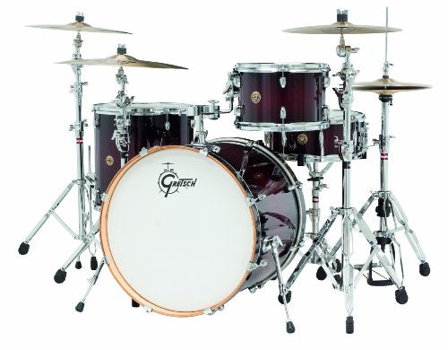 Gretsch Drums Catalina Maple CM1-E824S-DCB 4-Piece Drum Shell Pack, Deep Cherry Burst