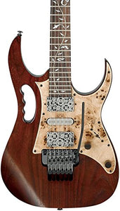"Ibanez JEM77WDP Steve Vai Signature ""Woody"" - Charcoal Brown Low Gloss"
