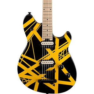 EVH Limited Edition Wolfgang Special Black & Yellow Stripe Electric Guitar