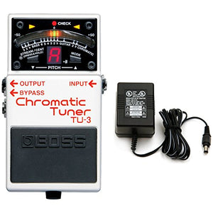 Boss TU-3 Tuner Pedal w/ Power Supply