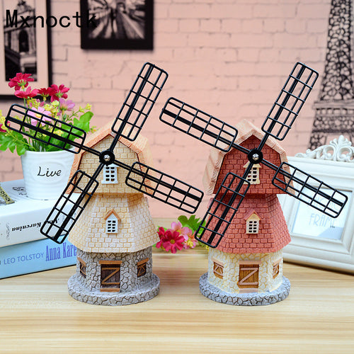 Dutch Windmill Music Box