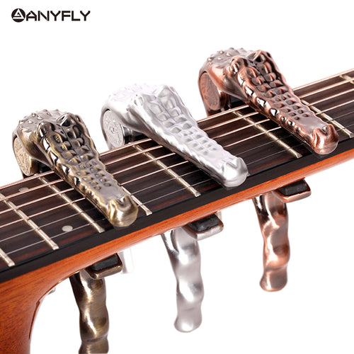 Metal Crocodile Guitar Capo