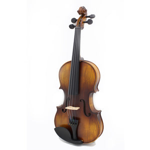 Full Size 4/4 Natural Acoustic Violin with Case