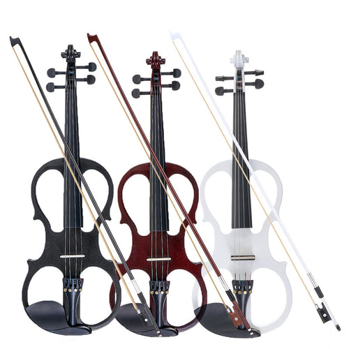 Electric Violin Basswood with Case