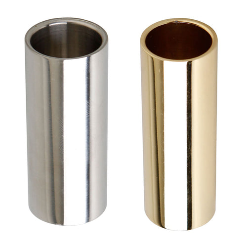 High quality 2 PCS Guitar Slides Chrome & Stainless Steel