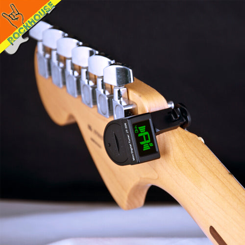 JOYO JT-306 Mini Guitar Tuner LCD Clip On