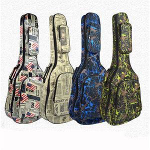 "Acoustic Guitar Gig Bag Soft Case Padded 40/41"" inch Water Resistant"